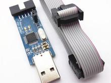 1pcs New USBASP USBISP AVR Programmer USB ISP USB ASP ATMEGA8 ATMEGA128 Support Win7 64K(China (Mainland))