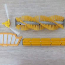 Rubber-Brush Robot-Vacuum-Cleaner HEPA-FILTER Spare-Part for A335/A337/a338