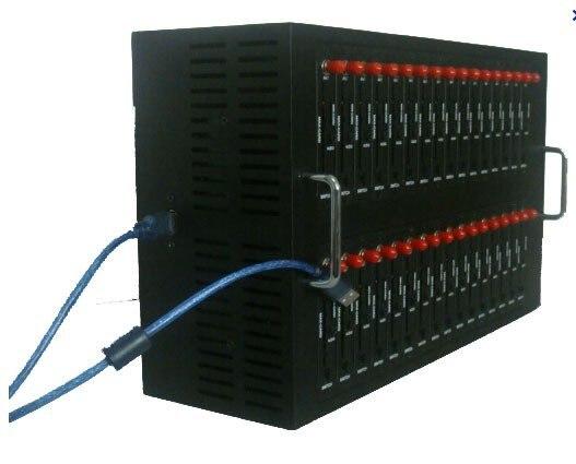 Free Shipping GSM GPRS 32 port modem pool Q2403 gsm modem