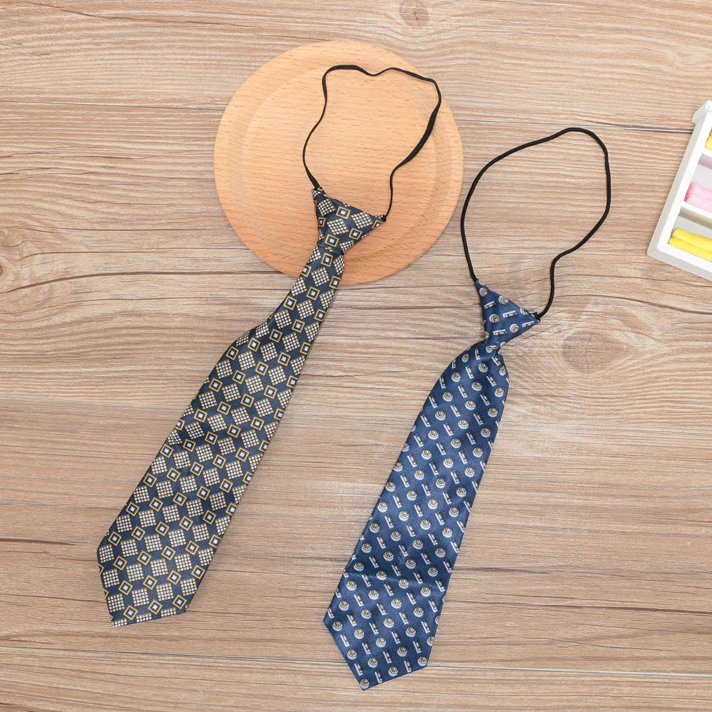 Mix-color Newborn Cute Baby Photography Tie Costume Prop Outfits Photo Props Newborn Baby Girls Boys Cute Necktie Random Color Boy's Tie