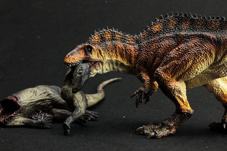 Spinosaurus Dinosaur Toys Action Figure Animal Model Collection Learning & Educational Children Toy Gifts Model Decoration bwl 01 tyrannosaurus dinosaur skeleton model excavation archaeology toy kit white