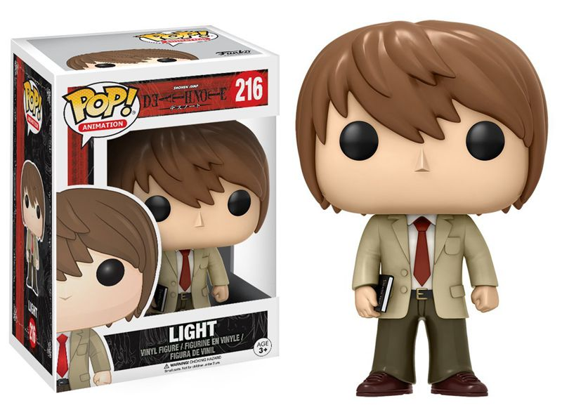 Funko pop official Anime Death Note – Light Vinyl Action Figure Collectible Model Toy with Original Box