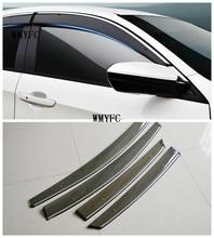 Высокое качество 4 шт. окна козырек Тенты Vent дождь отражающая Обложка для Mazda CX-5 CX5 2013-2017
