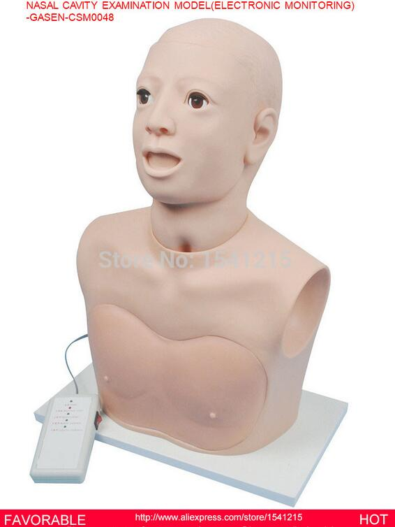 MANIKIN BODY MEDICAL TRAINING MANIKINS SIMULATORS MANIKINS NASAL CAVITY EXAMINATION MODEL ELECTRONIC MONITORING-GASEN-CSM0048 medical training manikins medical training simulators nursing training manikin knee joint cavity injection model gasen csm0034