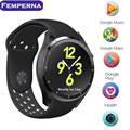 Новейшие Smart Watch MTK6580 I3 Android 5.1 OS 1.39 дюймов Amoled экран СИМ-Карты 3 Г WIFI GPS Google Play Сердечного ритма Smartwatch