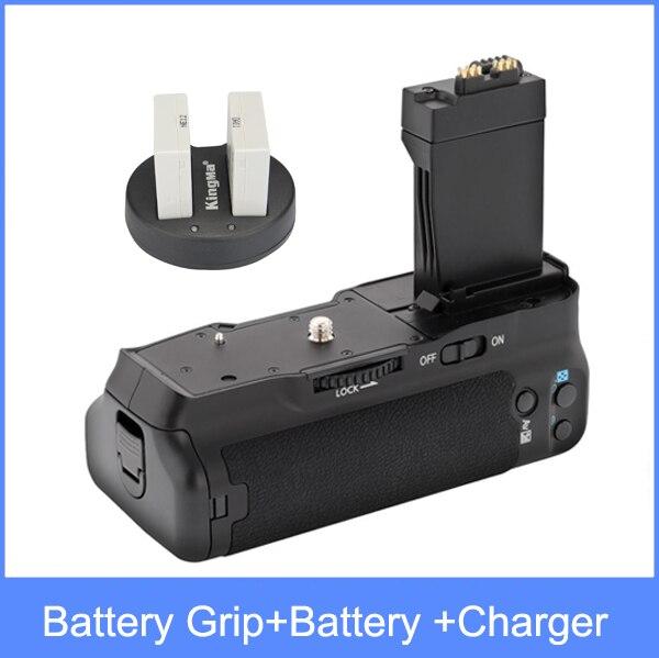 MeiKe Battery Grip for Canon 550D 600D 650D 700D as BG-E8 + LP-E8 + dual charger цена 2017