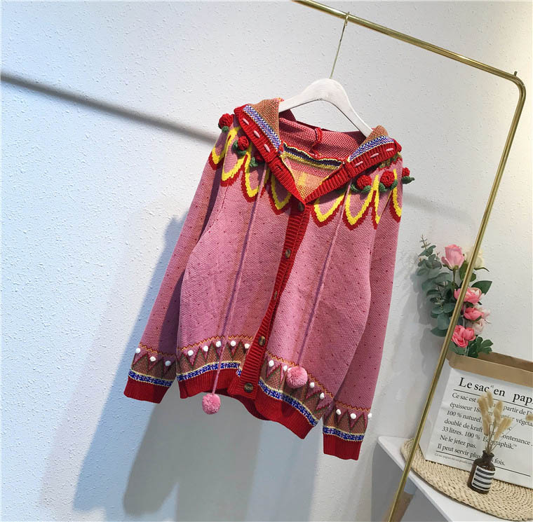 flower High Knitted Cardigans 8