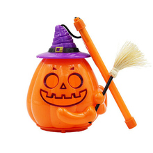 4.5cm*11cm Halloween Sound Control  LED Lights Pumpkin Hanging Lantern Lamp Festival Prop Cute Party Decor