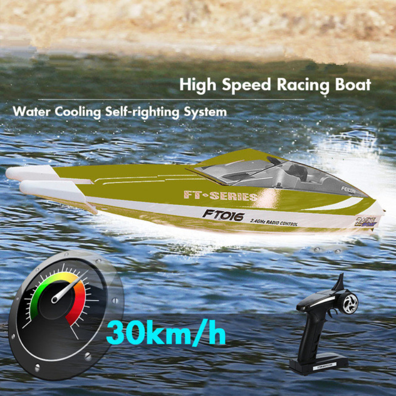 2018 New Water Electric RC Speedboat 2.4G 4CH 150M 47CM High Speed Racing Flipped RC Boat Remote Control Speed boat Surf Toy