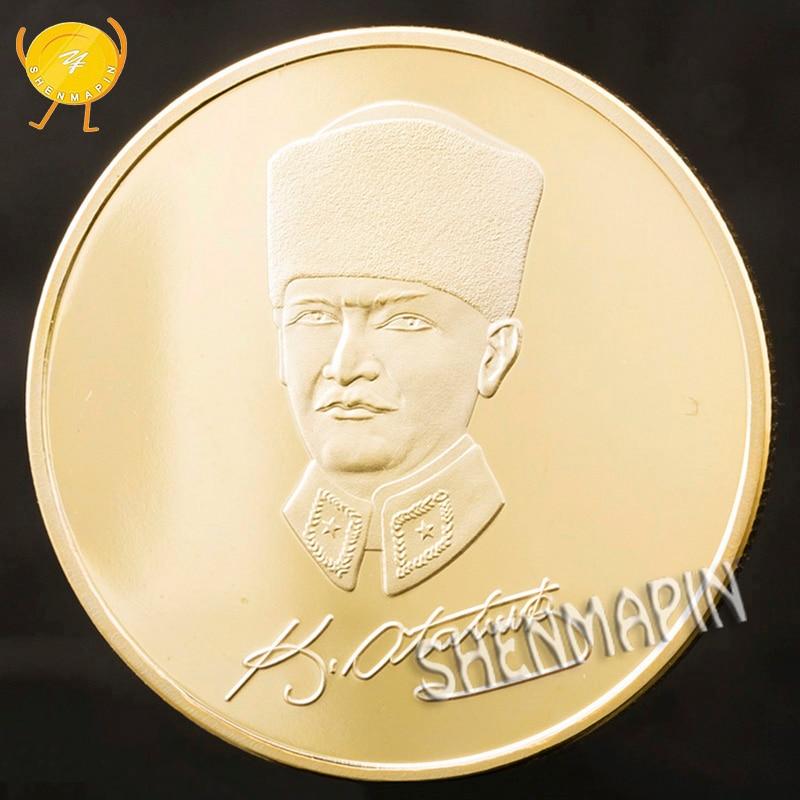 Turkish President Mustafa Kemal Ataturk Commemorative Coin