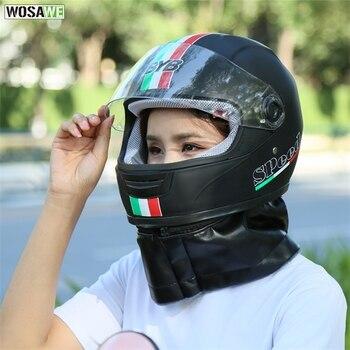 Casques Vtt Intégral | Casques De Moto Hommes Motocross Course Moto Scooter équipement De Protection Casque De Protection Intégral Femmes Vtt Casque De Vélo