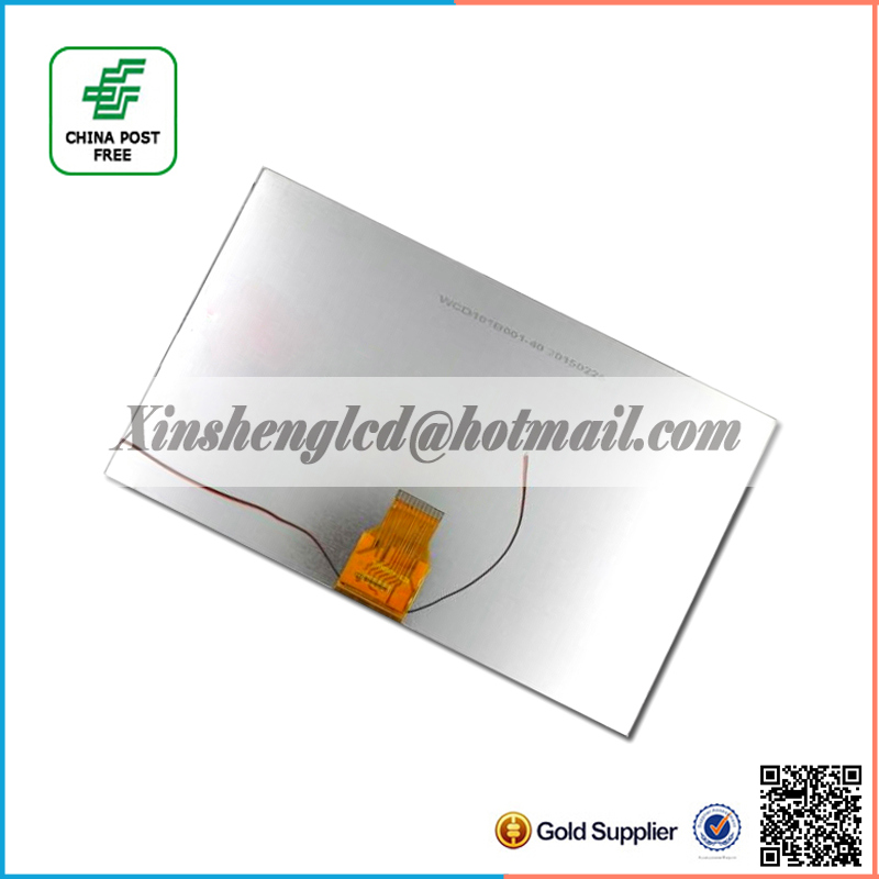 Original 10.1'' inch Tablet lcd display H-H10118FPC-C0 40pin LCD screen 1024*600 MID LCD Panel Free shipping