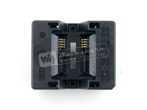 ФОТО Modules SSOP8 TSSOP8 OTS-8(28)-0.65-01 Enplas IC Test Burn-in Socket Programming Adapter 0.65mm Pitch 4.4mm Width
