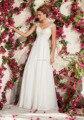 Высокое качество аппликации вернуться обнаженная тюль см . по линии свадебные платья 2015 новый чай длина винтаж пляж свадебные платья
