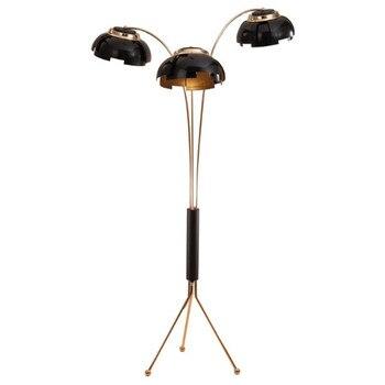 ポストモダン 3 アーム金属フロアランプ E27 電球光源プラグ屋内 Lamparas 器具家庭用リビングルームのための寝室