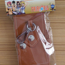 Fairy Tail Natsu Lucy Key Bag Collection PU Toy