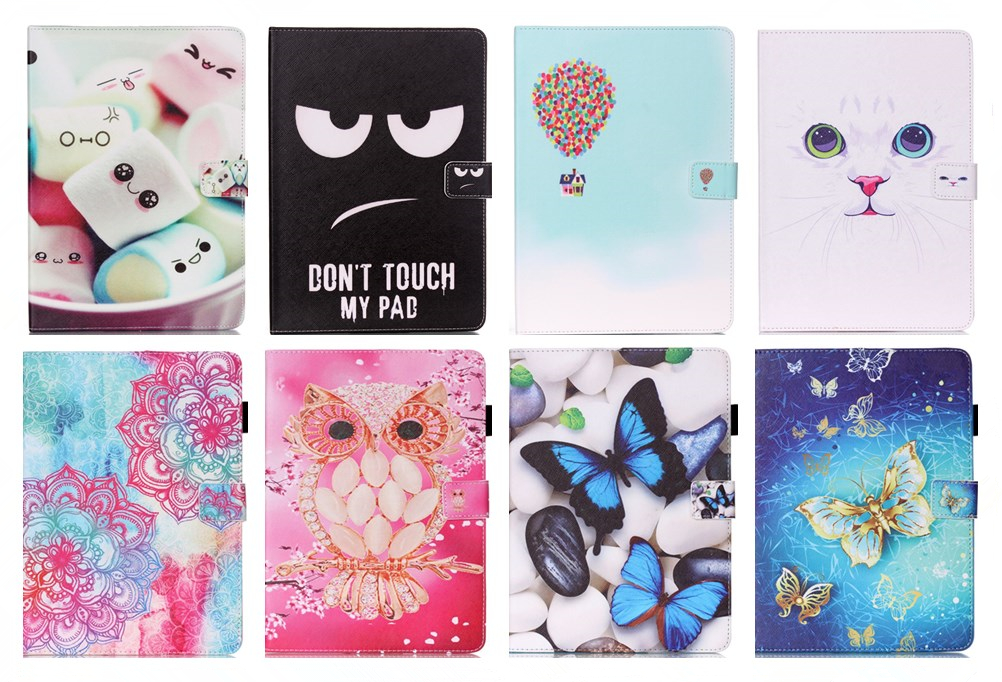 Luxury 7 Flower tablet pu Leather Stand Tablet Cover Case For Samsung Galaxy Tab 4 Tab4 7.0 T230 T231 T235 SM-T230 SM-T231 #R