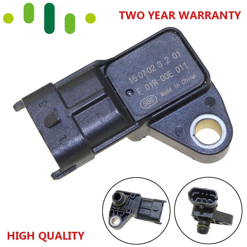 KARTE Sensor Ansaugluft Boost Druck Manifold Absolute Drucksensor Für Siemens Wuling HongGuang HongTu GuangRong B12 F01R00E011