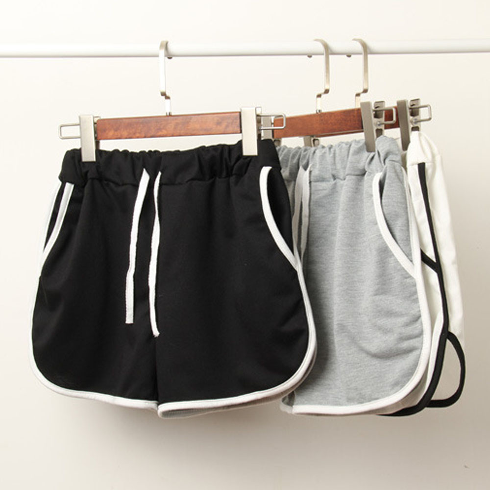 Womail Women   short   Fashion Lady Summer Sport   Shorts   Casual Cotton hot sales deporte de cintura alta dropship j22