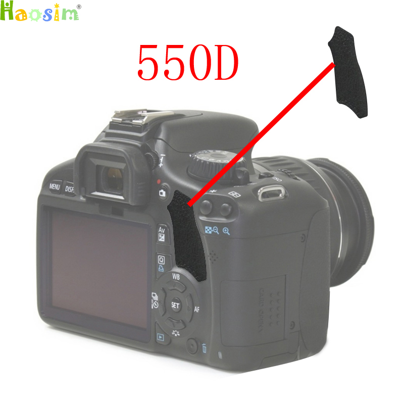 The Thumb Rubber Back Cover Rubber DSLR Camera Replacement Unit Repair Part For CANON EOS 550D