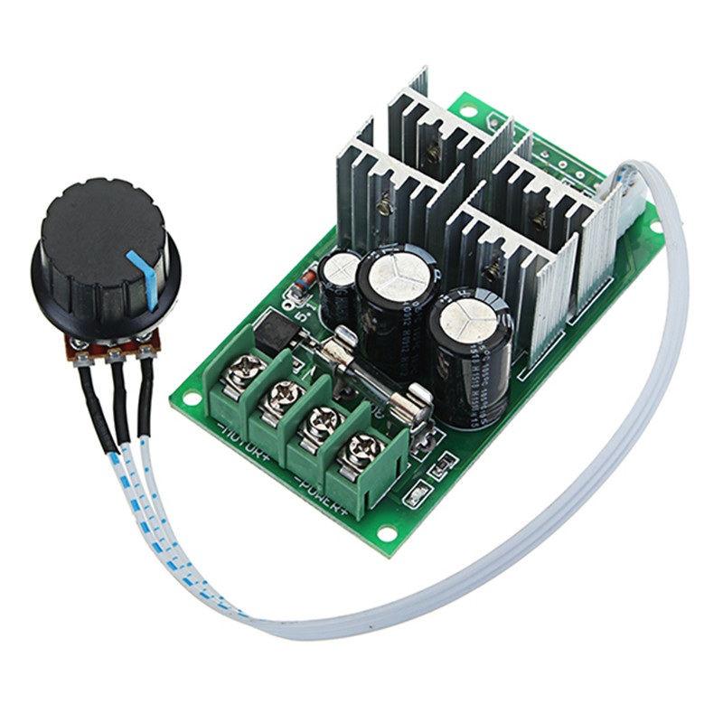 Reasonable High Power 40a Dc Motor Speed Regulator 9v-60v Pwm Universal Motor Drive Air Conditioning Appliance Parts