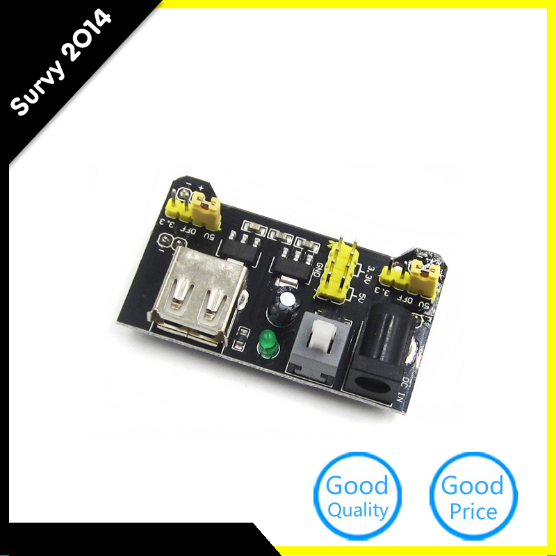 MB102 Breadboard Power Supply Module 3.3V/5V For Arduino