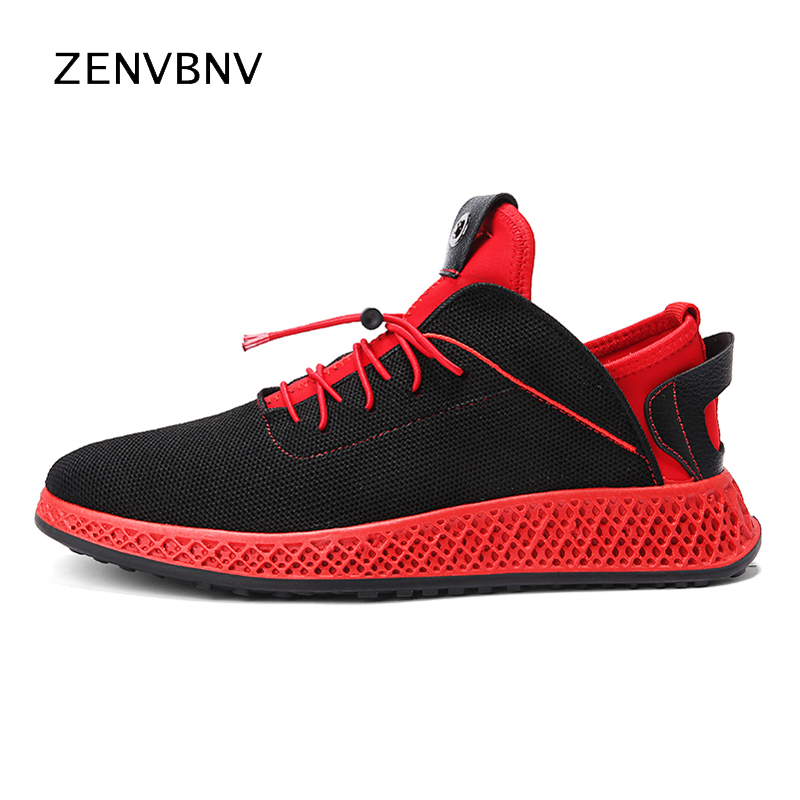 Zenvbnv Lightweight summer outdoor sports shoes men sneakers comfortable men shoes 2018 jogging mesh tennis running shoes male