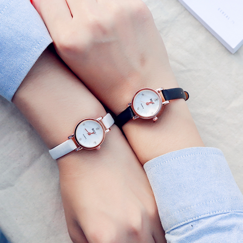 Small Dial Charm Ladies Wristwatches 2017 Luxury Women's Rose Gold Fashion Quartz Watch Women Dress Elegant Watches Female Clock