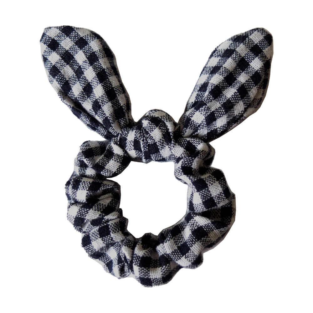 Meisjes/Vrouwen Haar Accessoires Konijnenoren haarbanden Bunny Oren Haar Strikje Chouchou Elastische Paardenstaart Houder Haar Elastische bands