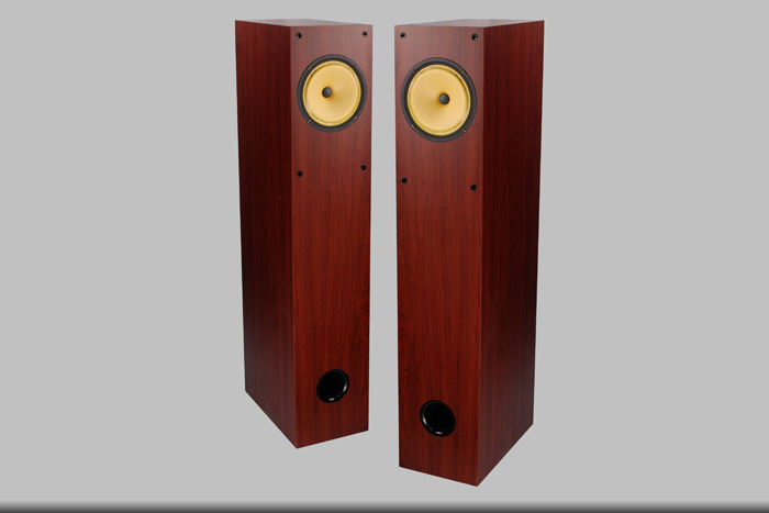 H-004 F6 floor standing Full Range Speaker 1 way 1 unit HIFI 6.5 inch vacuum tube amplifier 95dB 8 ohms speaker h 019 fountek fr88ex full range 3 inch hifi speaker amplifier speaker hot sale 84 3db 1w 1m