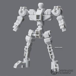 Image 2 - Bandai SD CS Kreuz Silhouette Option Teile CS Rahmen Weiß w/GM Kopf Mobile Anzug Montage Modell Kits