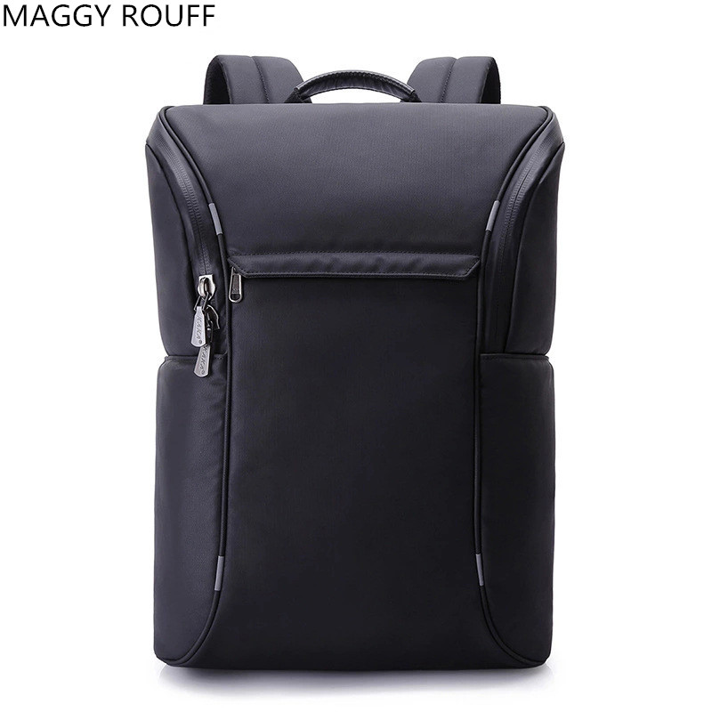 High Quality Nylon Backpack Men Backpack  Student Fashion School Bags Casual 18Inch Laptop Notebook Backpack sosw fashion anime theme death note cosplay notebook new school large writing journal 20 5cm 14 5cm