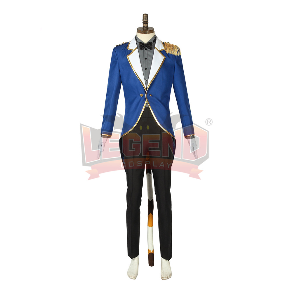 Cosplaylegend Game Ensemble Stars animate cafe Leo Tsukinaga cosplay costume custom made outfit full set with ear
