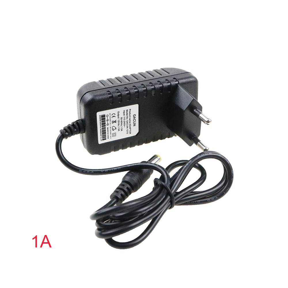 CHINCOLOR DC 12V 1A 2A 3A 4A 5A 6A LED light power adapter LED Power Supply Adapter drive for 5630 5050 3528 LED Light with DA