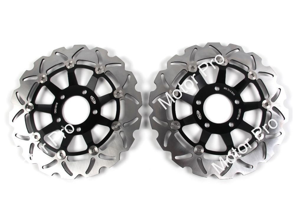 2 PCS CNC FOR SUZUKI GSF 600 N BANDIT 1995-1997 1998 1999 2000 2001 2002 2003 2004 Motorcycle Front Brake Disc brake disk Rotor