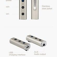 Wireless Audio Bluetooth Receiver Adapter 3.5mm AUX jack Blu