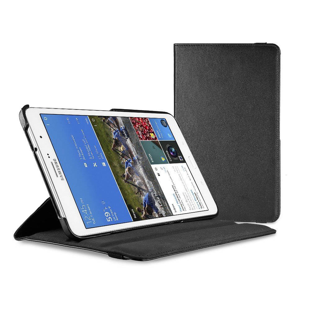 все цены на 360 Rotating SM T320 T321 T325 book cover case-Smart Leather Case Cover For samsung galaxy tab Pro 8.4 (Wake & Sleep Function) онлайн