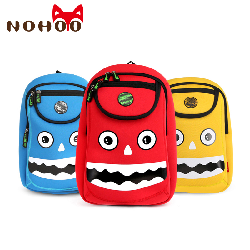 NOHOO Children 3D Waterproof School Backpacks Cute Kids Toddler School Bags  for Girls Boys 3 to 7 Years Old-in School Bags from Luggage   Bags on ... 55f7e4ae38886