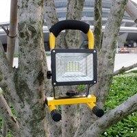 Yupard flutlicht Scheinwerfer SMD LED laterne Scheinwerfer taschenlampe + wiederaufladbare 18650 batterie + ladegerät