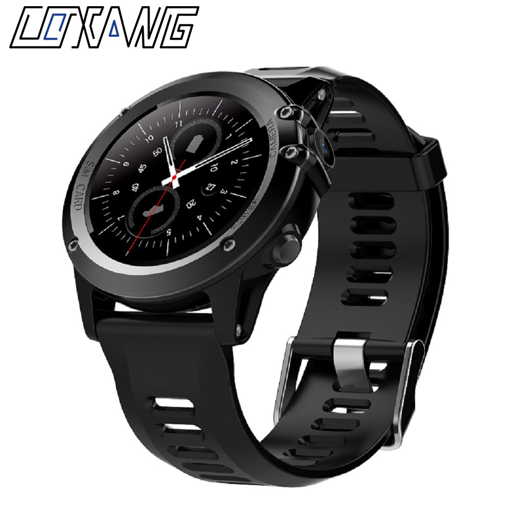 COXANG H1 4.4 Smart Watch Phone SIM Dail Call Waterproof MTK6572 3G Wifi GPS Wrist Smartwatch For iPhone Xiaomi