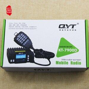 Image 4 - QYT 7900D 25W Quad band Mobile Radio transceiver 144/220/350/440MHZ 25W Schinken auto Mobile Radio mit Programm Kabel + Reiche Geschenk