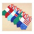Bandeira meias para homens fino estilo de alta qualidade por atacado 10 pares/lote meia toe para as mulheres projeto do barco de verão, primavera