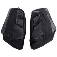 Motors Hard Saddlebag Liners Luggage Travel Paks for Harley Touring FLHT FLHR 1997 13 Motorcycle