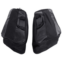 Motors Hard Saddlebag Liners Luggage Travel Paks for Harley Touring FLHT FLHR 1997 13 Motorcycle