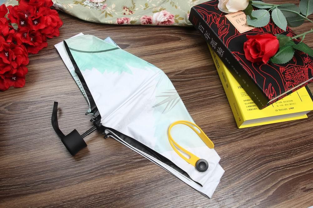 Marque 5 fois parapluie femme parapluies mini poche cadeau de mode de - Marchandises pour la maison - Photo 3