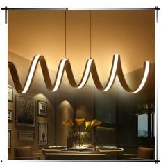 luzes de escritório ferragem acrílico minimalista moderno