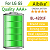 Aibike Mobile Phone Battery 4350mAh BL 42D1F For LG G5 H868 H860N F700K H850 H830 H820