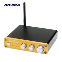 Aiyima Wireless Bluetooth CSR8635 4 0 Digital Audio Amplifier HIFI TPA3116D2 2 1 Channel Amplifier Home