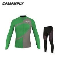 New Sportswear Mens Cycling Jersey Long Sleeve Cycling Clothing Bike Shirt Racing Clothe Riding Garment Bicycle Top and Pants