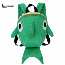 Lanxuanjiaer Cute cartoon Shape Baby Toddler Safety Harness Leash Tether Anti-lost Children Modeling Strap Backpack baby  Bag
